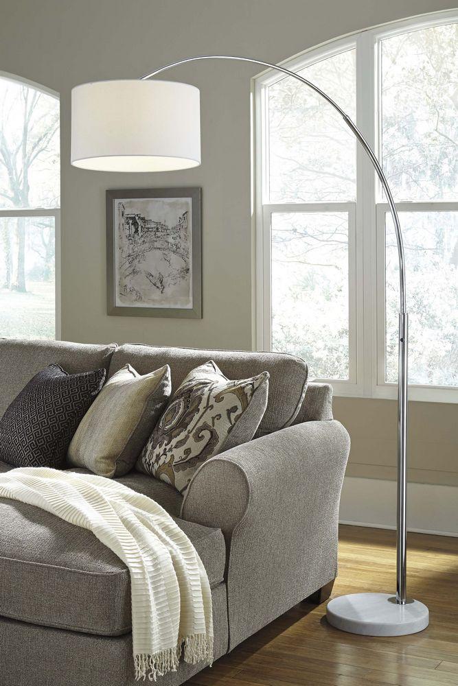 Areclia Chrome Metal Arc Floor Lamp Home Decor Cleek S